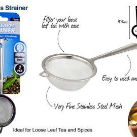 TEA STRAINER 6cm SS