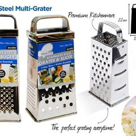 GRATER 4SIDED SS