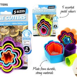 COOKIE CUTTERS KT606 5P/PK