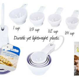 MEASURING CUPS 4P/PK KT044