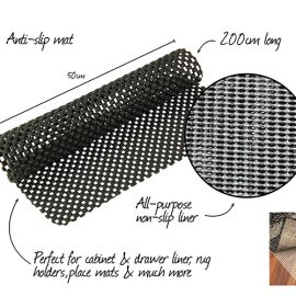 BATH MAT ANTI-SLIP 200x50cm
