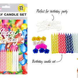 BIRTHDAY CANDLES 25PK