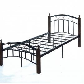 ESTA SINGLE BED (190X90CM) DIRTY OAK