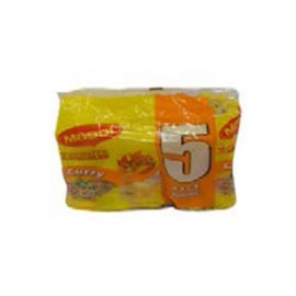 MAGGI SPICY CURRY NOODLES 5 PACK