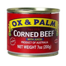 OX & PALM CORNED BEEF RED 200G