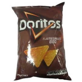 DORITOS FLAME GRILLED BBQ CHIPS 170G
