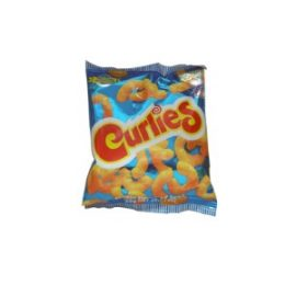 CURLIES CHEESE SNACK 20G