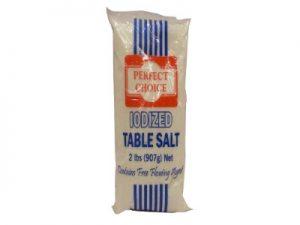 PERFECT CHOICE IODIZED SALT 907G