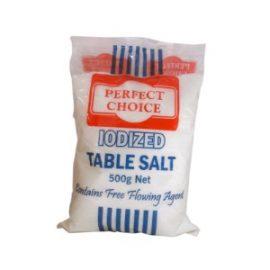 PERFECT CHOICE IODIZED SALT 500G