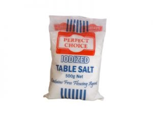 PERFECT CHOICE IODIZED SALT 500G