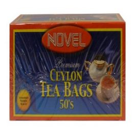 NOVEL TEA BAGS 50S