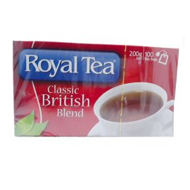 ROYAL TEA BAGS 100S 200g