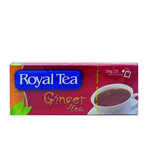 ROYAL T/BAGS GINGER 25S