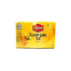 LIPTON YELLOW LABEL TEA BAGS 25S