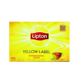 LIPTON YELLOW LABEL TEA BAGS 50S