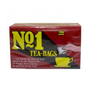 N NO.1 TEA BAGS 100S