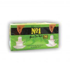 NATIONAL NO.1 GREEN TEA BAGS 25S
