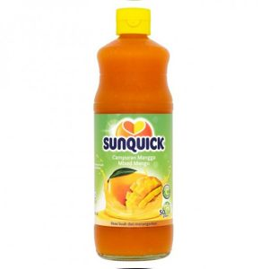 SUNQUICK MANGO 840ML.