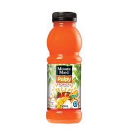 M/MAID PULPY TROPICAL DRINK 350ML