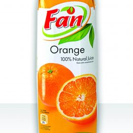 FAN ORANGE JUICE 1L