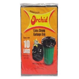ORCHID GARBAGE BAG 10S