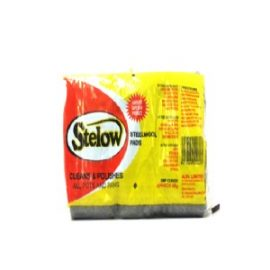 STELOW STEELWOOL PADS 12S 65G