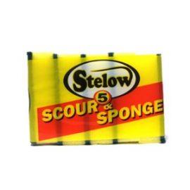 STELOW SCOUR SPONGE 5S