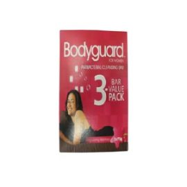 BODYGUARD BATH SOAP 3*75G FOR WOMEN