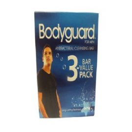 BODYGUARD BATH SOAP 3*75G FOR MEN