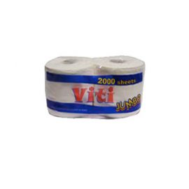 VITI TWIN JUMBO TOILET PAPER 1600 SHEETS