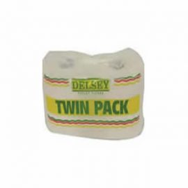 DELSEY TWIN PACK T/TISSUES 1600 SHEETS