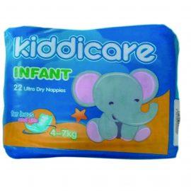 KIDDICARE CONV NAPPIES INFANT 22S