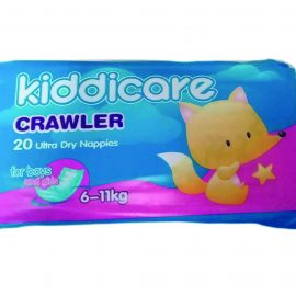 KIDDICARE CONV NAPPIES CRAWLER 20S