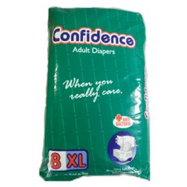 CONFIDENCE ADULT DIAPERS XL 8'S