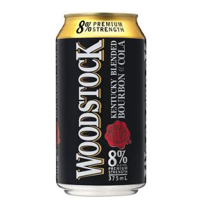 WOODSTOCK B&COLA 440ML