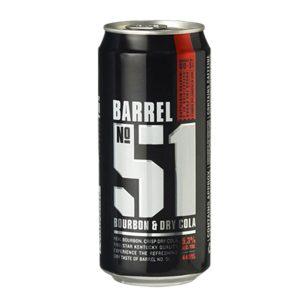 BARREL 51 BOURBON & COLA 330ML
