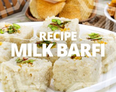 Banner Recipe Milk Barfi