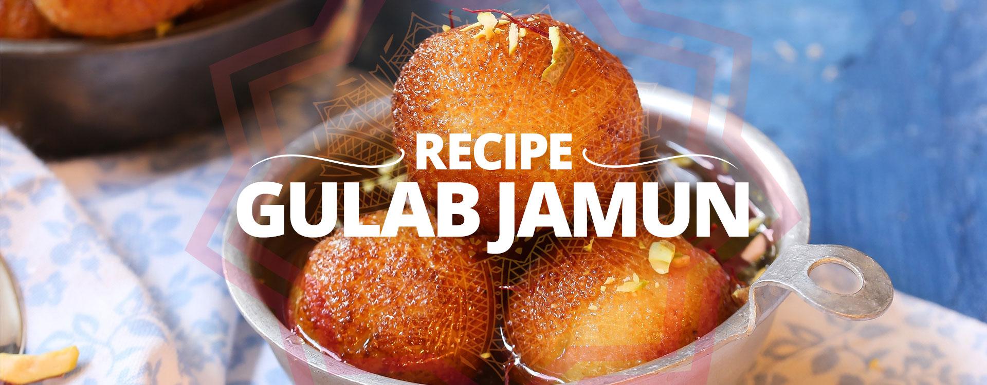 Banner Recipe Gulab Jamun